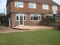 Standard softwood decking