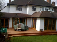 Another hardwood deck using the narrow 90mm Yellow Balau boards