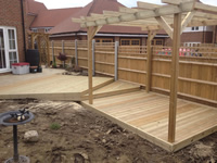 New Build Decking