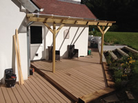 Composite Decking Extension