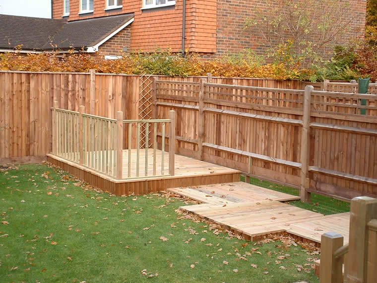 Softwood decking creation