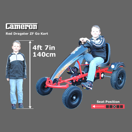 Go kart for a 4ft 7in child